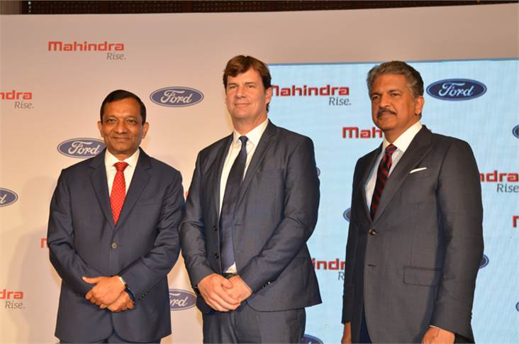 Ford-Mahindra Join Hands for a new Venture. Working on a New SUV and much more.