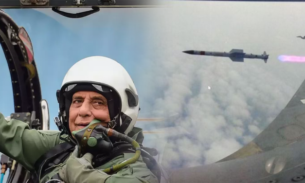 Defence Updates: Astra Air-To-Air Missile Successfully Tested. Rajnath Singh Flies In Tejas Combat Jet.