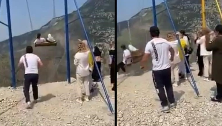 Caught on Video: 2 Women Fall Off 6300 ft While Taking Swing Ride in Russia; Miraculously Survive