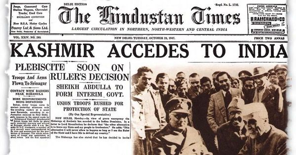 Article 370 is gone but the history of Kashmir's Fight for peace dates back to Partition of India.