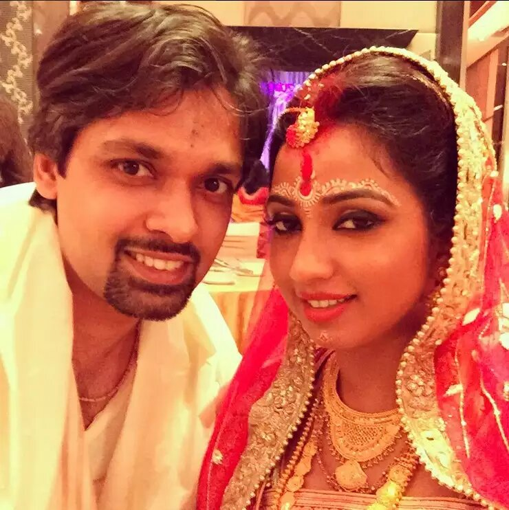 Shreya Ghoshal Marriage post picture