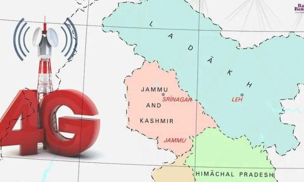 4G Internet services restored in Jammu & Kashmir