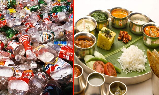 This city has opened a Garbage Cafe which gives food in exchange for plastic to rag-pickers.