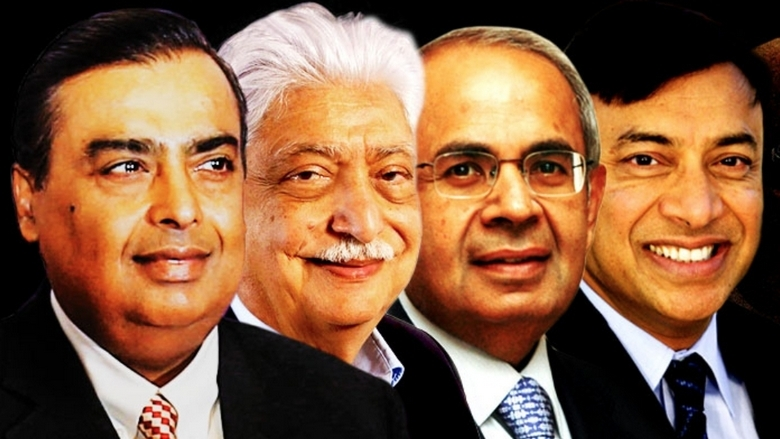 You wouldn't believe who made it to the top 20 richest people in India List.