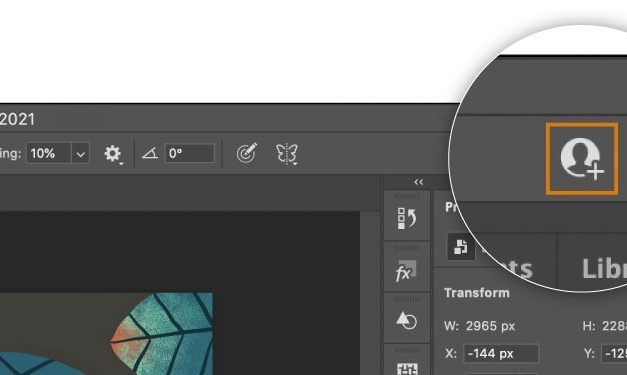 Adobe's new feature allows collaborators to work together on Photoshop, Illustrator projects