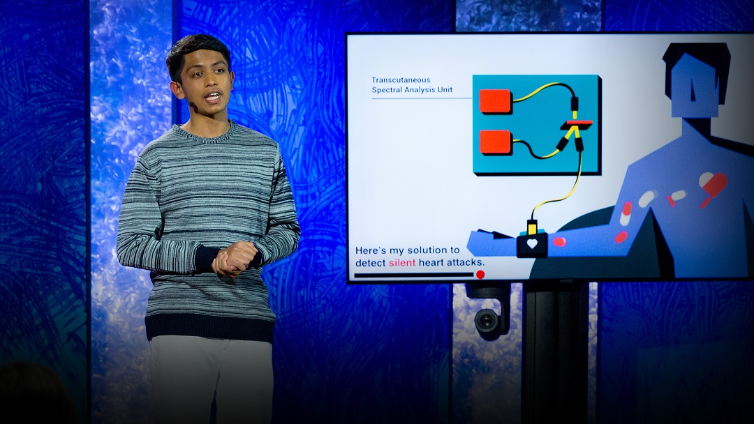 16 YO Indian Boy makes device to alert about heart attack, 6 hours before it occurs.