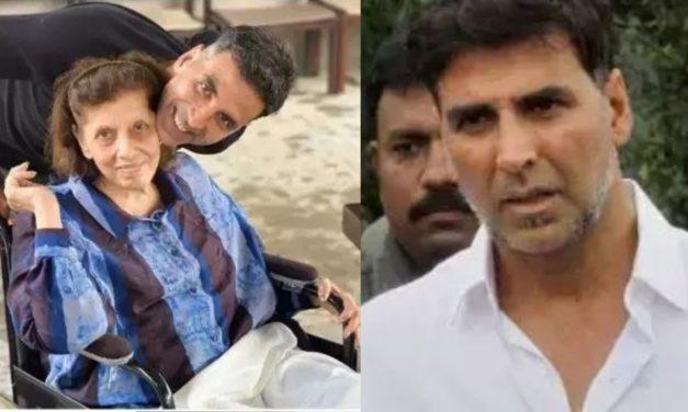 Akshay Kumar's Mother Aruna Bhatia Passes Away, Actor Pens Heartfelt Tribute Message