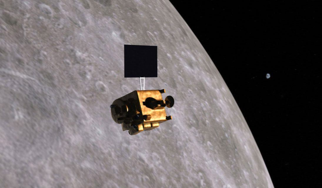 Vikram Lander found on Moon's Surface. Thanks to Orbiters high-resolution camera.