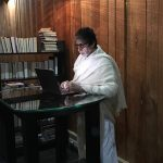 """""""Cannot read, cannot write, cannot see"""": Amitabh Bachchan after his eye-surgery"""