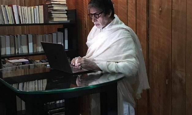 """Cannot read, cannot write, cannot see"": Amitabh Bachchan after his eye-surgery"