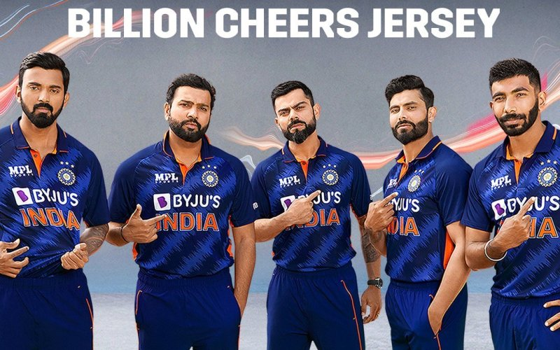 BCCI Reveals Indian Team 'Billion Cheers Jersey' For T20 World Cup: Here's Why It Has 3 Golden Stars