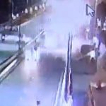 Bengaluru Flyover Accident: CCTV Footage Shows 2 People Thrown Off By Speeding Car