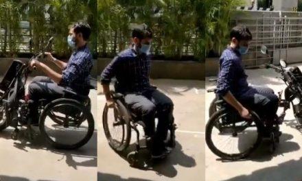 Chennai Startup Neomotion Creates Wheelchair That Transforms into Electric Vehicle