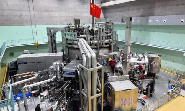 China's scientists replicate Sun's fusion reaction on Earth, which sets a new record