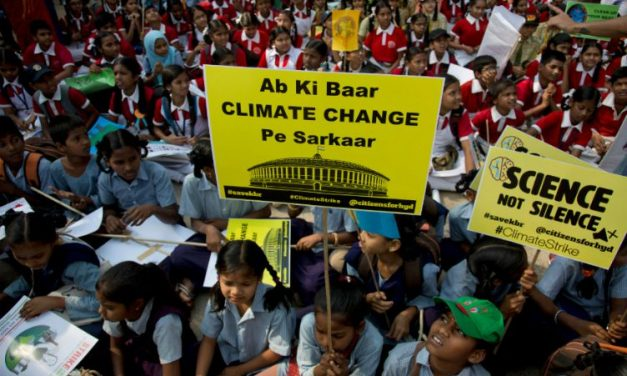 #FridayForFuture Movement Reaches India. Student Skip School to Fight Against Climate Change.