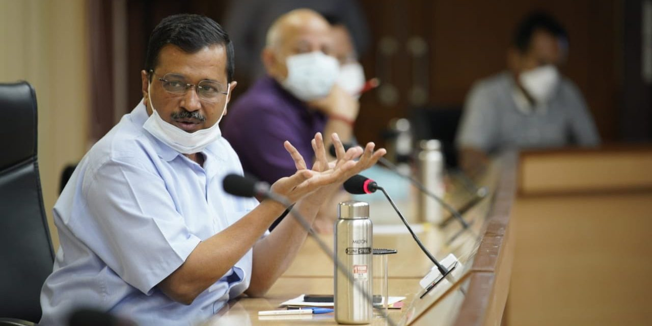Delhi CM Arvind Kejriwal announces week-long lockdown in Delhi from April 19-April 26