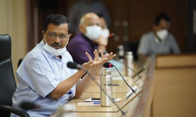 Delhi CM Arvind Kejriwal announces week-long lockdown in Delhi from April 19-April 26