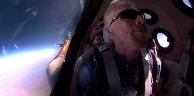 New Theory! Did Branson Really Travel to Space? Scientists Gives an Explanation