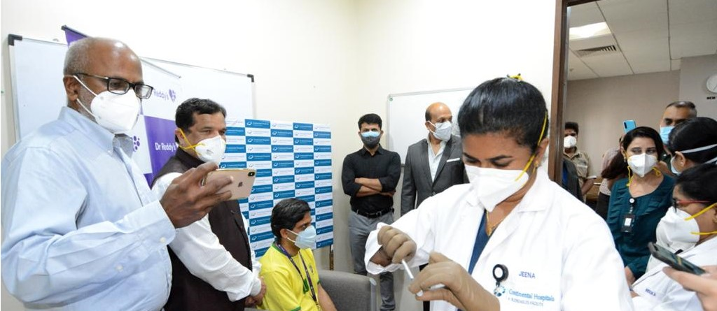 Dr. Reddy's administers first shot of Sputnik V; Imported batch to cost Rs. 995 per vaccine
