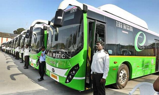 This place becomes 2nd after Bengaluru in India to implement E-buses in public transport.
