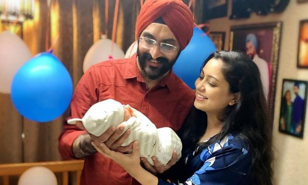Harshdeep Kaur and Mankeet welcomes baby boy; Shares the first picture together