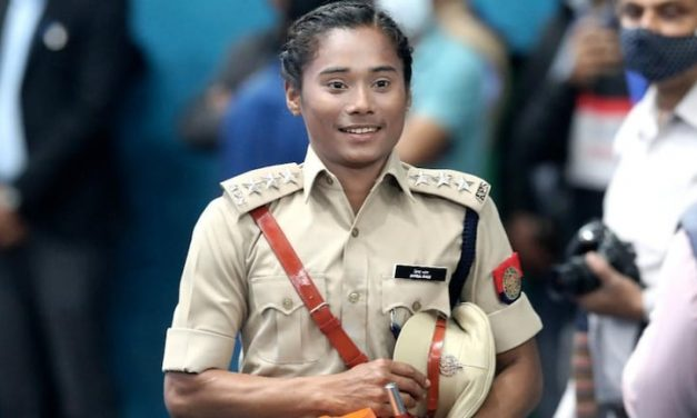 Hima Das, Indian Sprinter,  Appointed as DSP in Assam Police