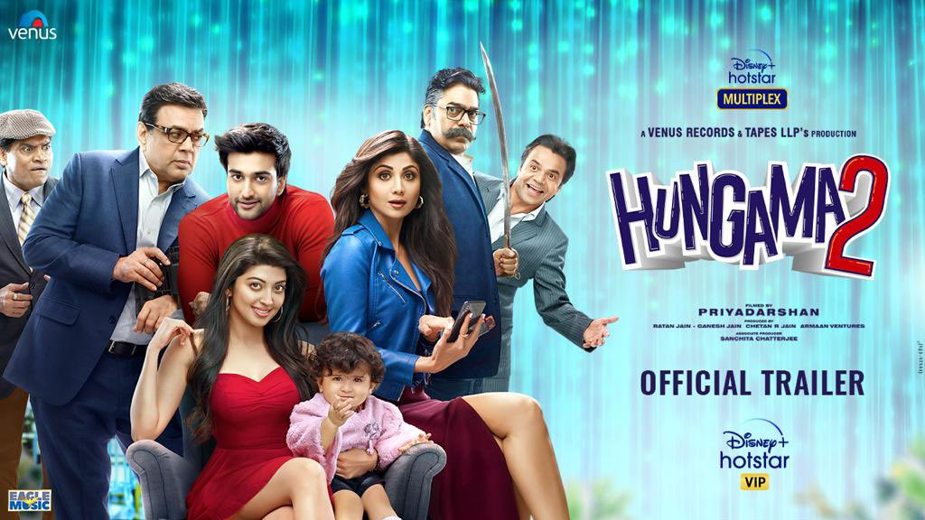 Hungama 2 trailer: Shilpa Shetty and Paresh Rawal leaves netizens a bit disappointed, sparks memes on Twitter