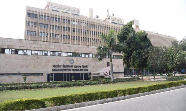 IIT Delhi reduces 50% of its Carbon footprints