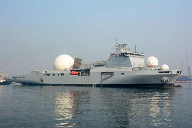 India commissions its first nuclear missile tracking vessel- INS Dhruv
