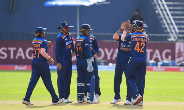 Ind VS SL 1st ODI: India Register Comfortable Victory Against Sri Lanka; Goes 1-0