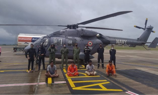 Cyclone Tauktae: Indian Navy Deploys Warships; Coast Guards and Navy Rescues over 300 people