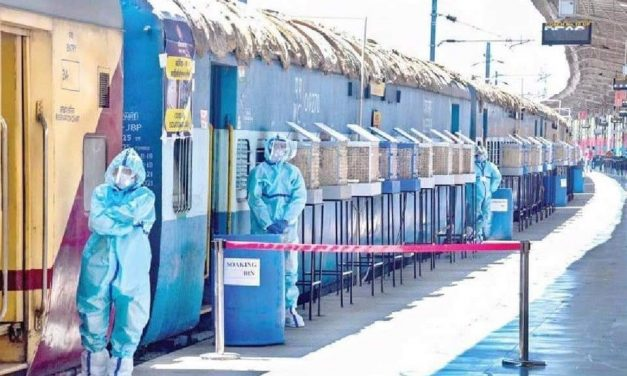 COVID-19 Good News- Indian Railways deploys 4,000 isolation coaches consisting of 64,000 beds