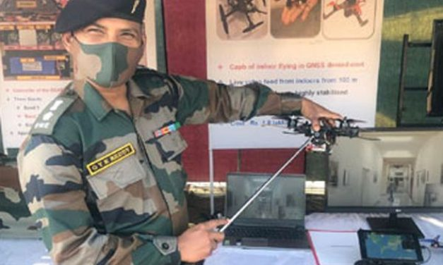 Indian Army Officer Develops 'Microcopter' That Can Sniff Out Hiding Terrorists