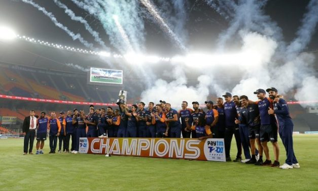 Indian team defeats England by 36 runs and bags T20 series 3-2