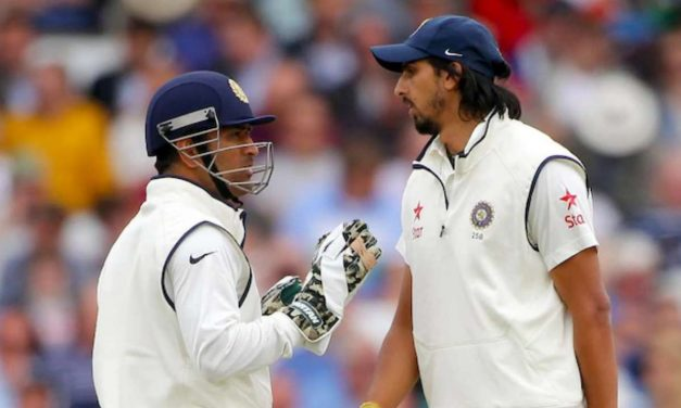 Lambu, you left me midway in my last match: Ishant Sharma remember MS Dhoni's words before Test