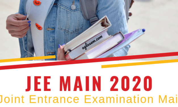 JEE Mains 2020, New Pattern Announced. Read the changes here.
