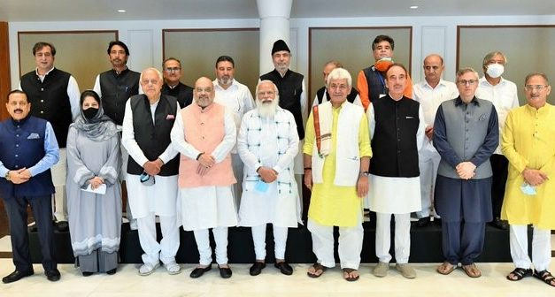 J&K To Receive Statehood? PM Modi Promises Statehood at the Right Time at J&K All-Party Meet