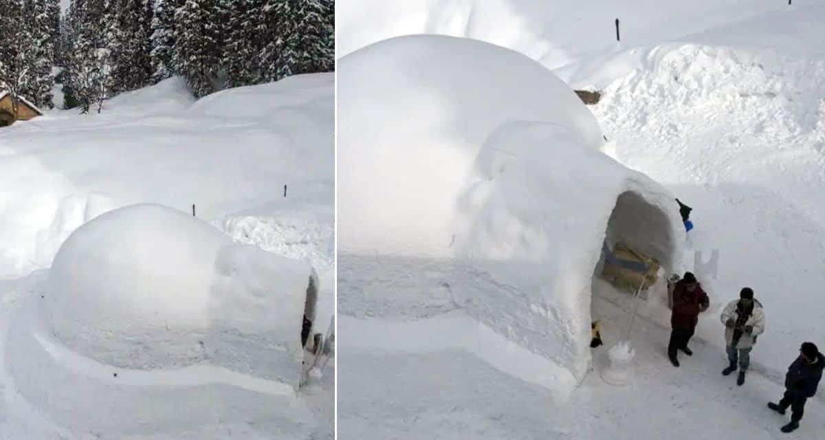 India's first ever Igloo Cafe now open in Gulmarg