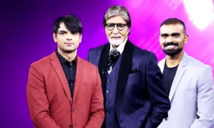 Olympic Stars Neeraj Chopra and P Sreejesh to Grace the Reality Show Kaun Banega Crorepati 13