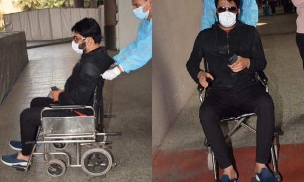 """Ullu ka pattha"": Wheelchair-bound comedian Kapil Sharma loses cool on paparazzi"