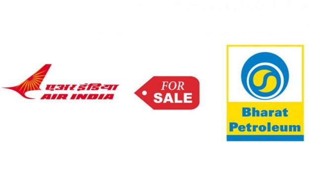 Air India & Bharat Petroleum Put on Sale by Government of India