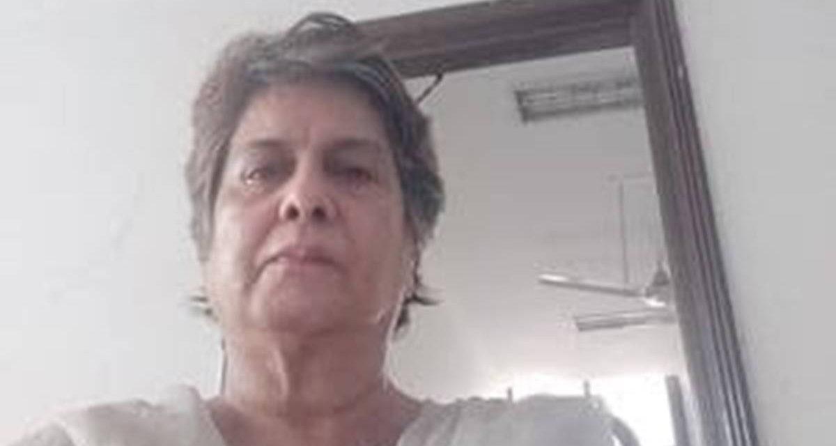 Kitty Kumaramangalam, Wife of Ex-Union Minister, Murdered at Home