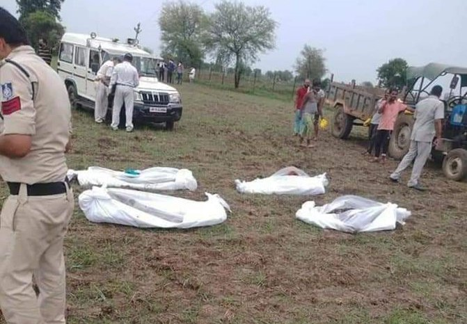 MP: Bodies of 5 Missing Family Members Found Buried in 10-foot-deep pit; 6 Held