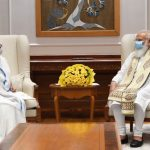 "Mamata Banerjee Meets PM Narendra Modi, Labels the Meeting as ""Courtesy"""