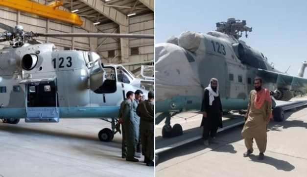 Taliban Gains Control of Mi-24 Attack Helicopter, Was India's Donation to Afghanistan