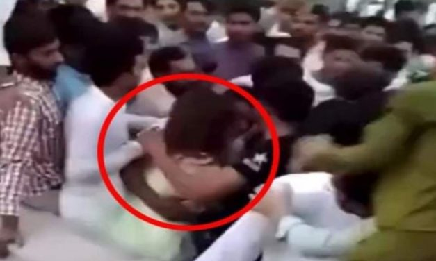 Act of Shame! Pakistani Female TikToker Thrown into Air and Gets Assaulted, Police Books 400 People