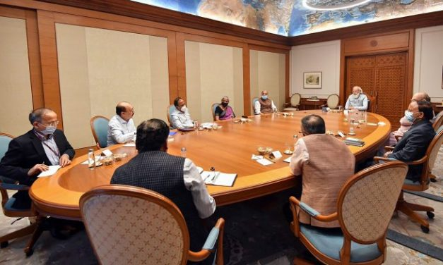 PM Modi Heads the Cabinet Meet on Afghanistan Emergency; Shah, Doval in Attendance
