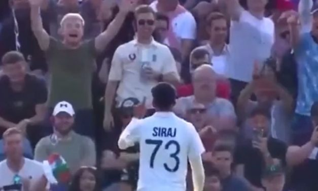 Ind VS Eng Test 3 Day 1: Mohammed Siraj Once Again Targeted by Rowdy Crowd, Kohli Lashes Out