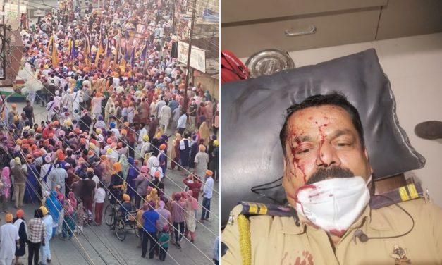 Nanded violence: Sword-yielding youth from Gurudwara attacks police; 10 Policemen injured