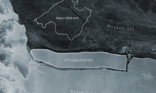 Antarctica: New Iceberg thrice the size of New Delhi and Nearly Four Times size of New York formed